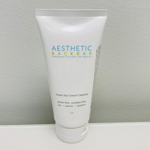 Green Tea Cream Cleanser Aesthetic Back Bar