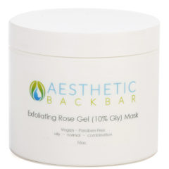 exfoliating rose gel mask