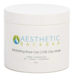 exfoliating rose gel mask