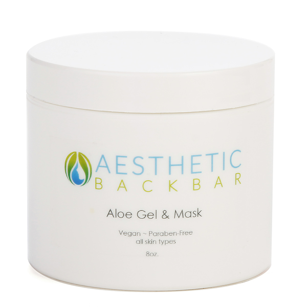 aloe gel and mask