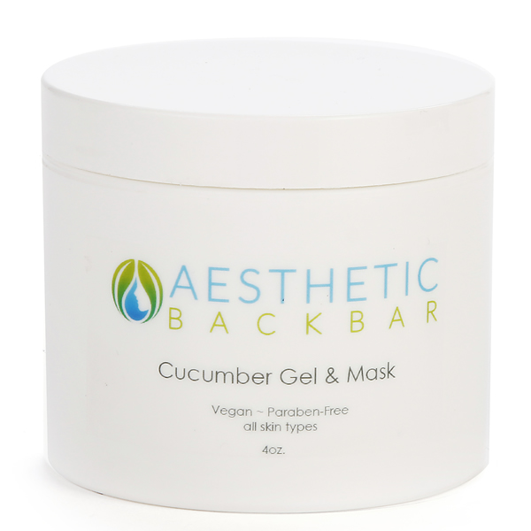 cucumber gel and mask
