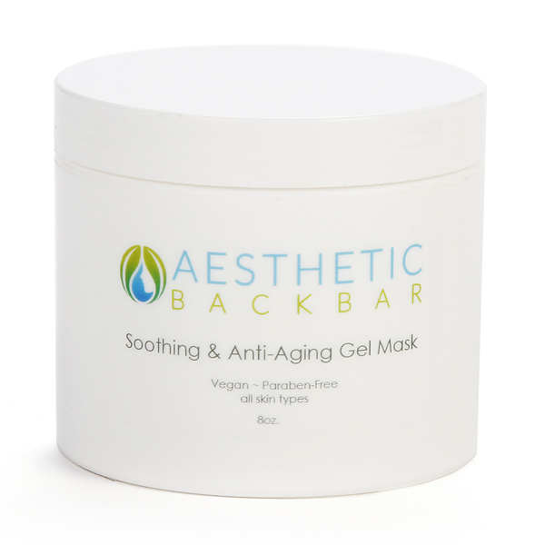 soothing gel and mask