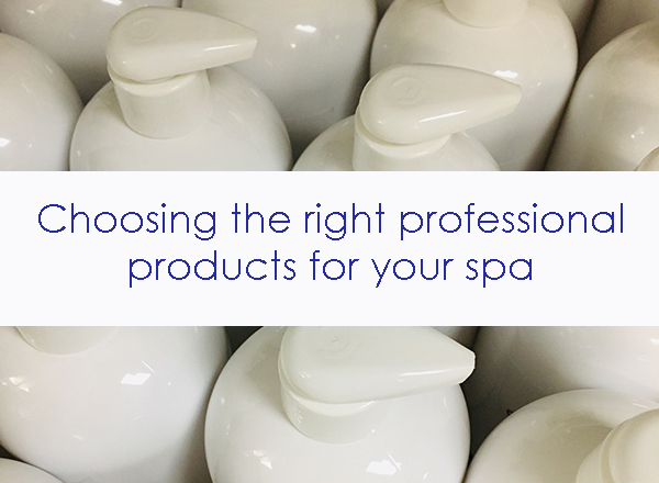best professional spa facial products