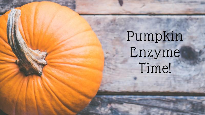 pumpkin enzyme for facials