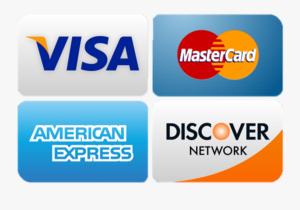 credit cards taken